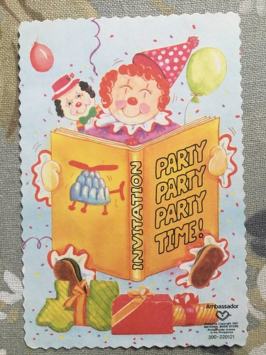 Oyen old bday invitation cards