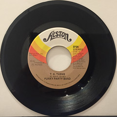 FUNKY PARTY BAND:LOVE PRESIDENT(RECORD SIDE-B)