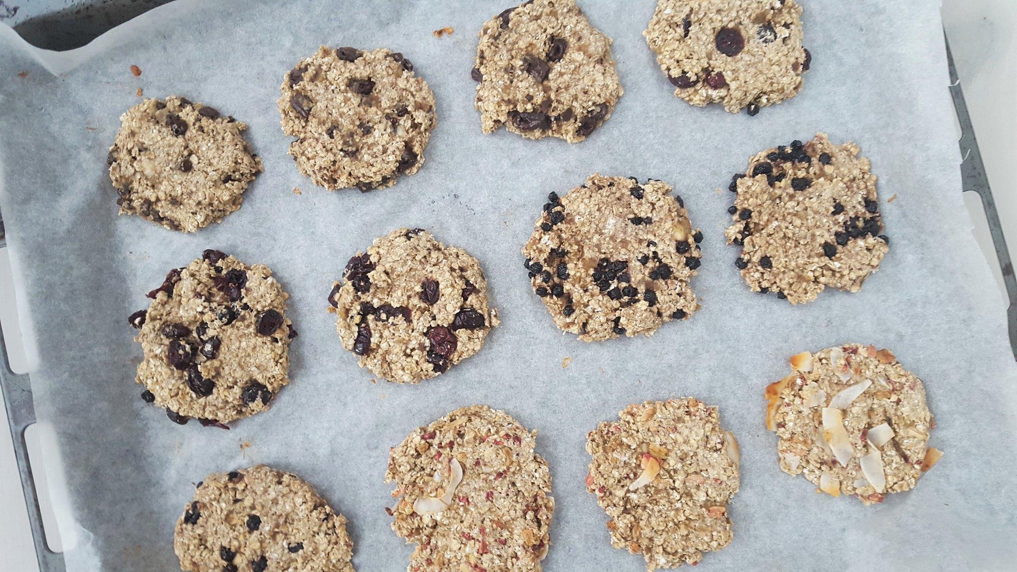 Recipe for Homemade Healthy Banana-oat Cookies