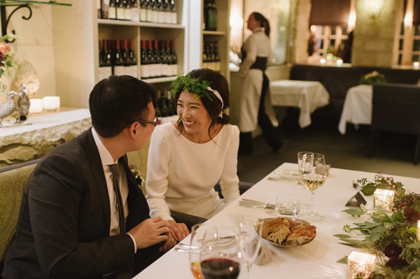 Celine Kim Photography Auberge du Pommier romantic intimate restaurant Toronto fall wedding-66