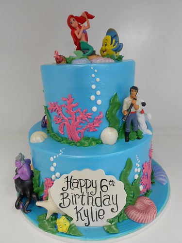 Mermaid Bday Cake