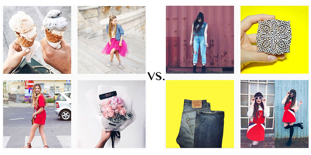 www.fashionartista Instagram content tips: commercial-vs.-edgy