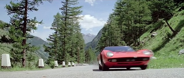 Lamborghini Miura P400 в фильме «Ограбление по-итальянски»