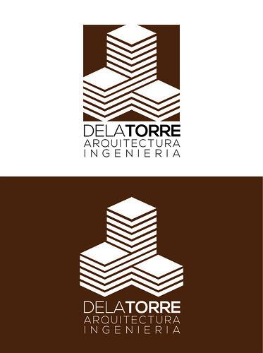 Logotipo Despacho Arquitectura De La Torre Dise O De