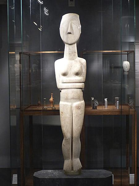 statue cycladique