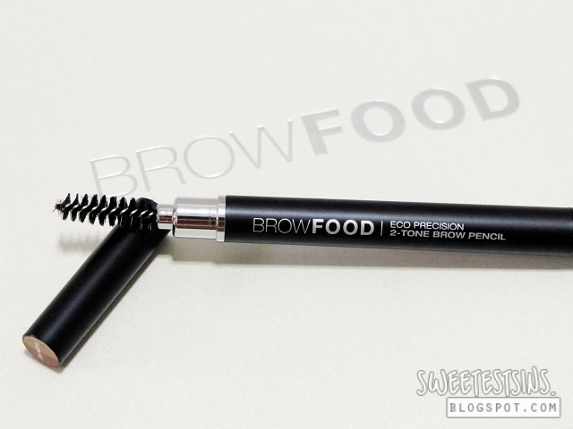 browfood brow transformation system eco precision 2 tone brow pencil review
