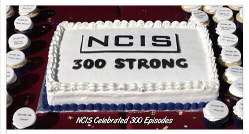 NCIS 300th cake