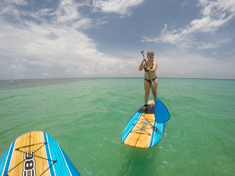 Paddleboarding Little Corn Island