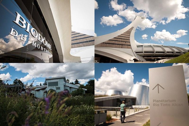 biodome olympia park insectarium planetarium montreal