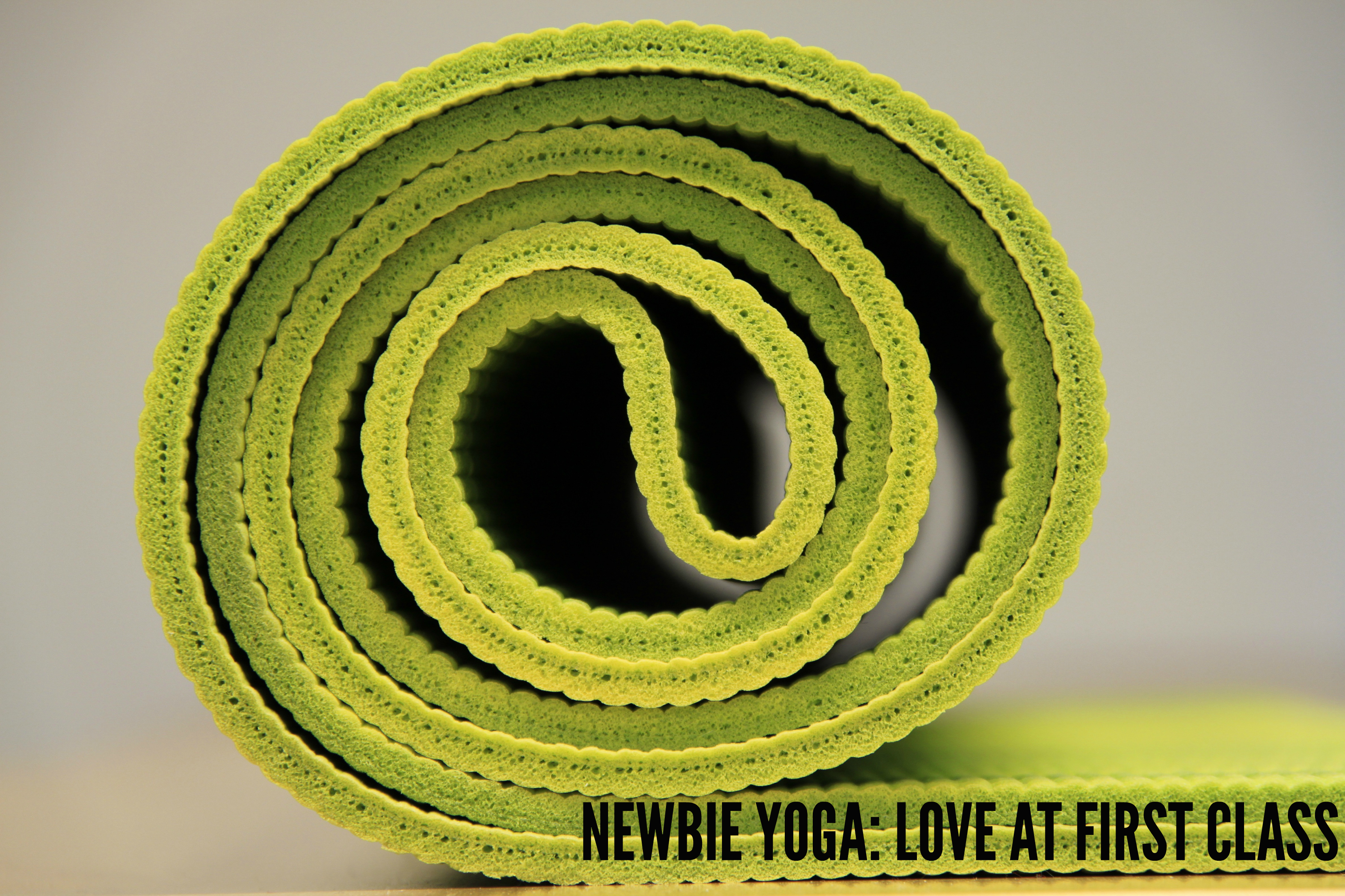 Newbie Yoga: Love at first class