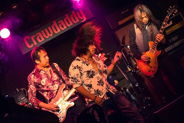 Molten Gold live at Crawdaddy Club, Tokyo, 10 Sep 2016 -00075