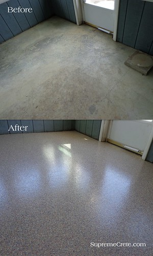 Epoxy Chip Coating Ft Wayne IN-Bryan OH-Before & After ...