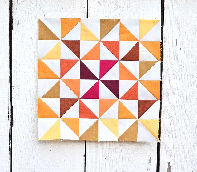 Pretty Playtime Pinwheel Block