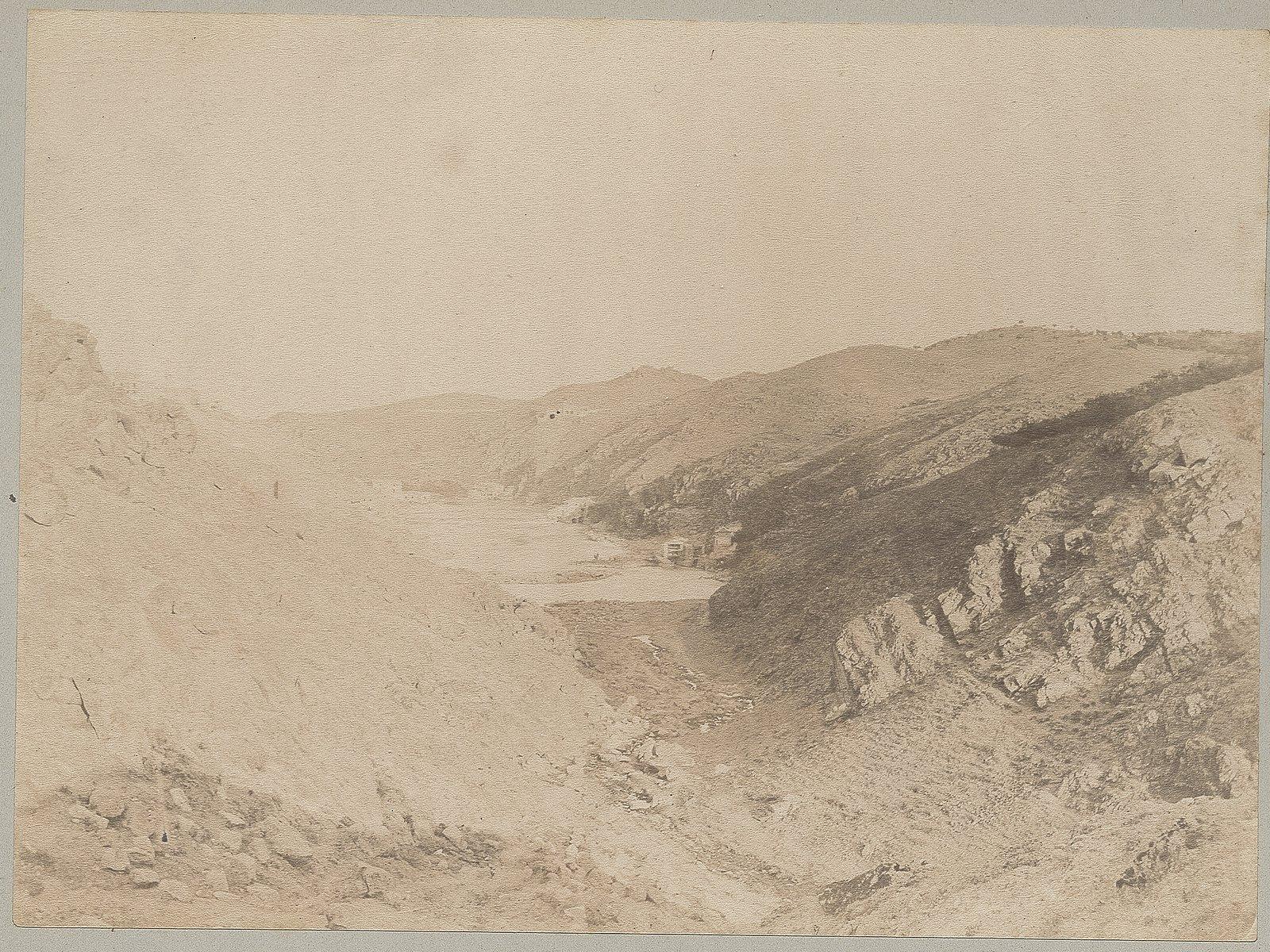 Vaguada de Valdecolomba y Arroyo de la Cabeza en el Valle en 1886 © Archives départementales de l'Aude