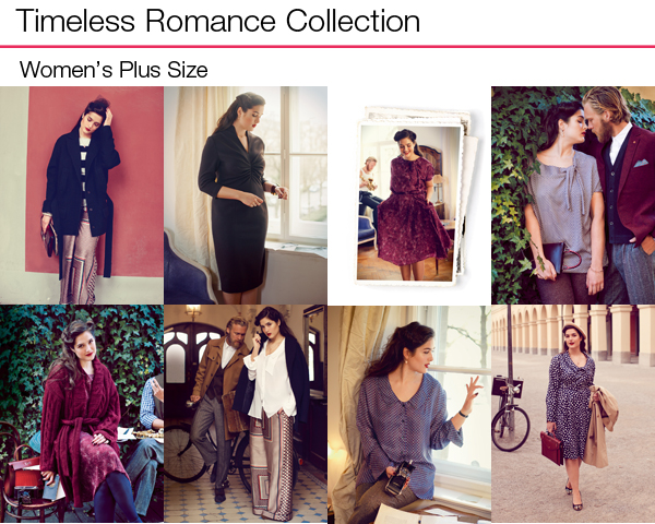 Timeless Romance Plus Size Collection