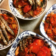 "growing up I didn't appreciate ""leftovers"", now that I need to do the cooking, I get it❤︎whole wheat couscous, ratatouille & sardines  #dinner #osaka #japan"