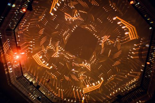 Alice Sara Ott (Klavier) und Matthias Arfmann presents: Ballet Jeunesse mit Matthias Arfmann (Electronics), Onejiru (Gesang), Peter Imig (Bass), Sebastian Maier (Schlagzeug) bei der Yellow Lounge im Silent Green Kulturquatier in Berlin am 06.09.2016