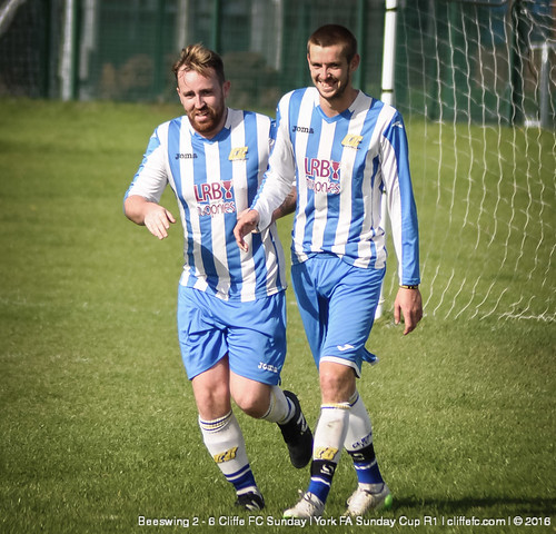 Cliffe FC Sunday 6 - 2 Beeswing (York FA Cup)