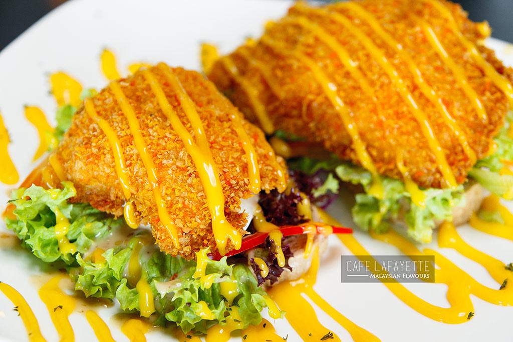 Cafe Lafayette Damansara Uptown breaded fish deli