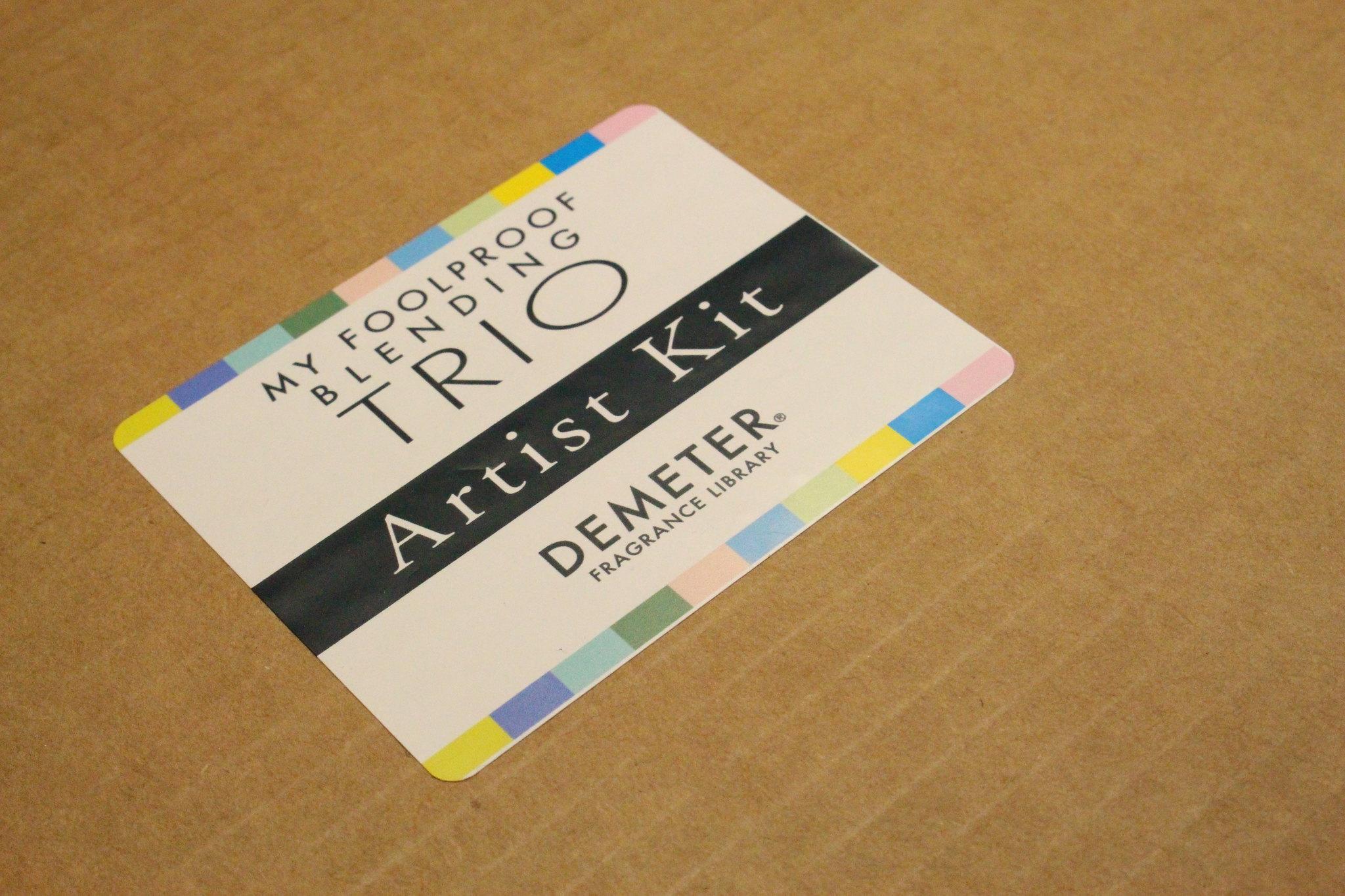 Demeter Fragrance Library Foolproof Blending Trio Artist Kit