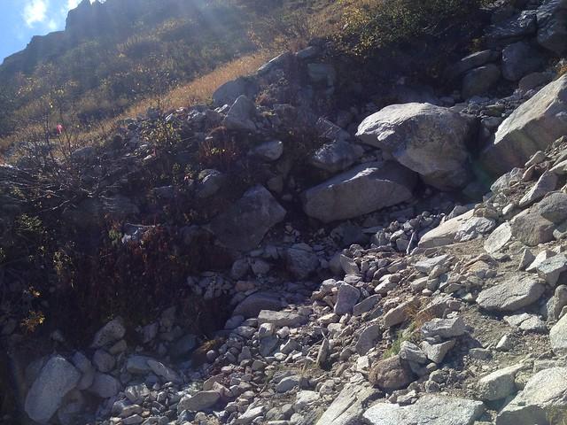 木曽駒ヶ岳 濃ヶ池 枯沢