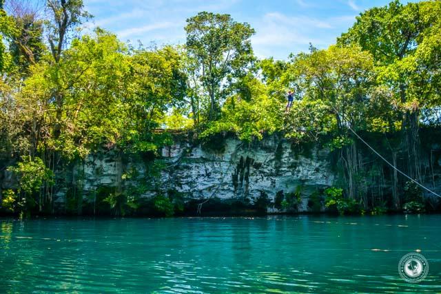 Dudu Lagoon near Sosua Dominican Republic
