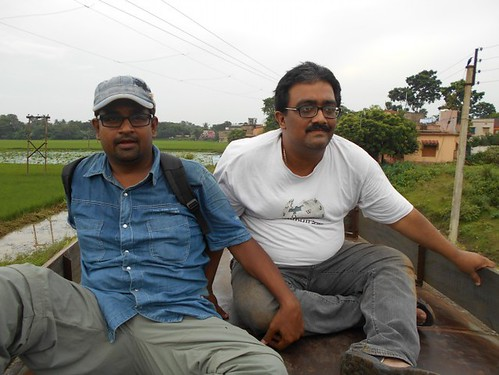 Indrajit and Sujay - During Wiki Loves Monuments 2016, Kalna, West Bengal India