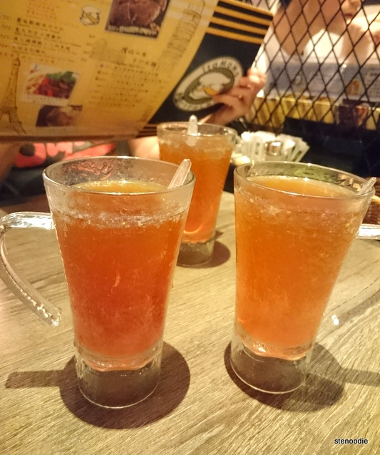 citrus lemon tea