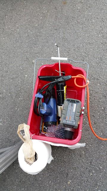 Bucket o'tools