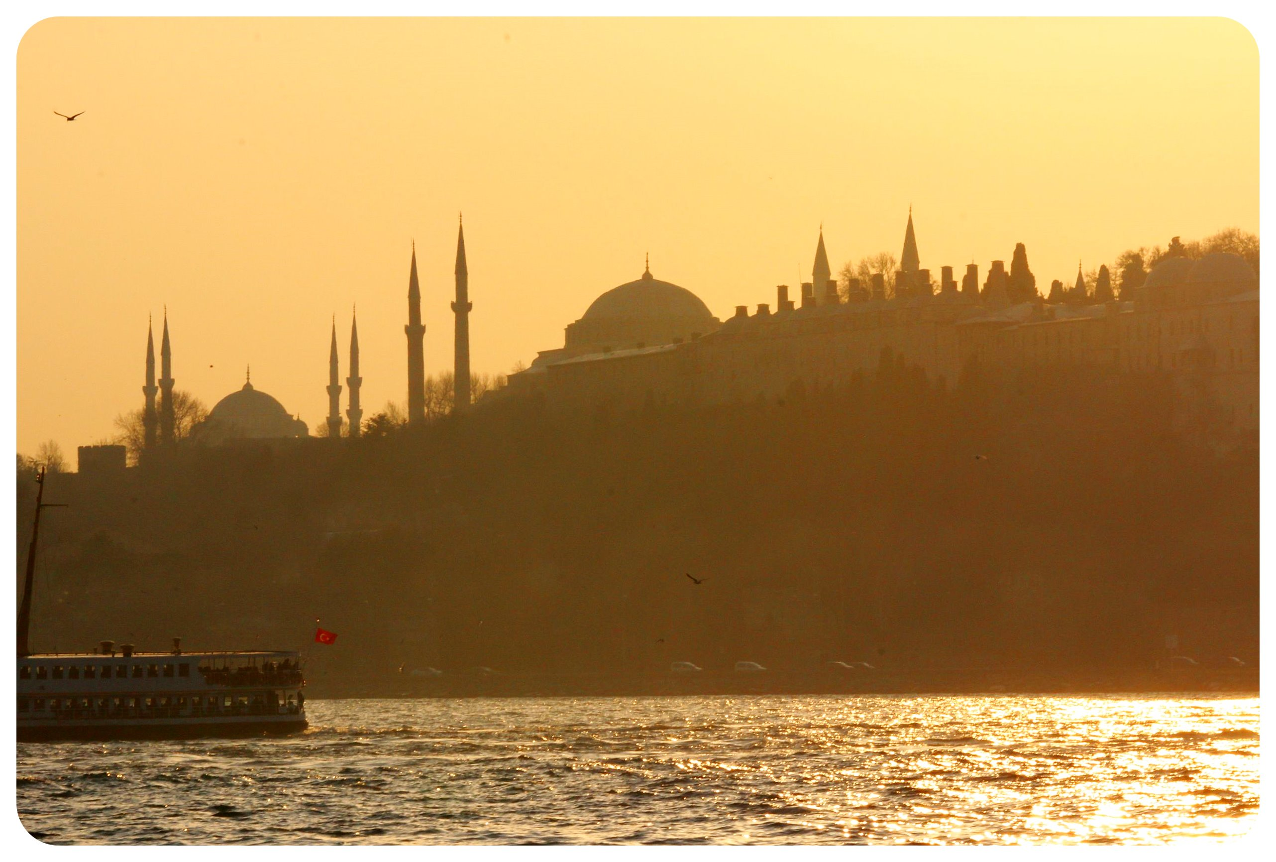 Istanbul sunset mosque