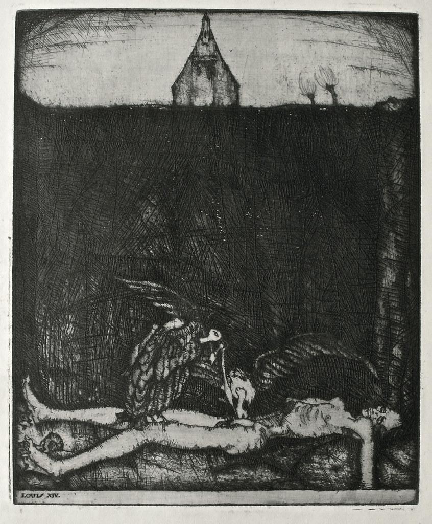 Stefan Eggeler - Illustrations for Hanns Heinz Ewers's Die Herzen der Könige, 1922 (5)