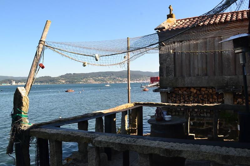 Mar y tierra fueron los sutentos de Combarro desde hace siglos.