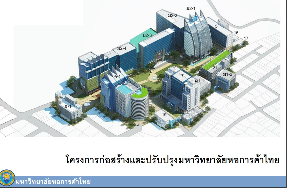 REDEVELOPMENT of The University of the Thai Chamber of