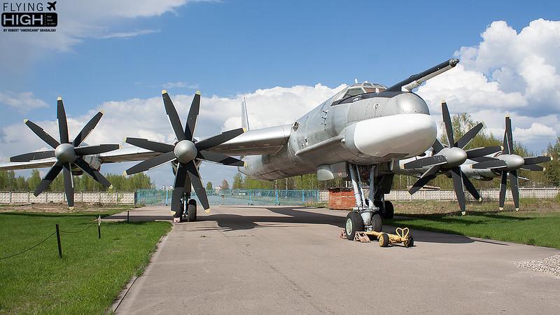Russia Air Force Tu-95