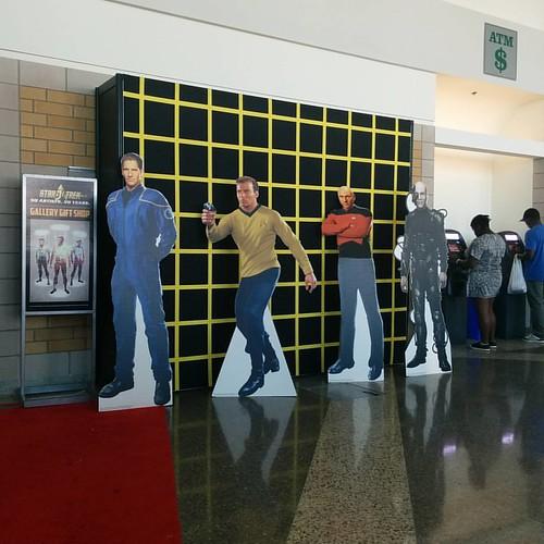 Captains #toronto #cne #theex #startrek #archer #kirk #picard #locutus