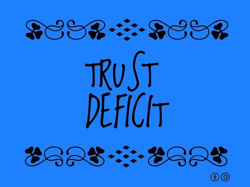 Buzzword Bingo: Trust Deficit