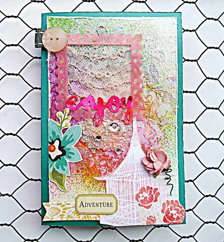 Enjoy-mixed-media-card