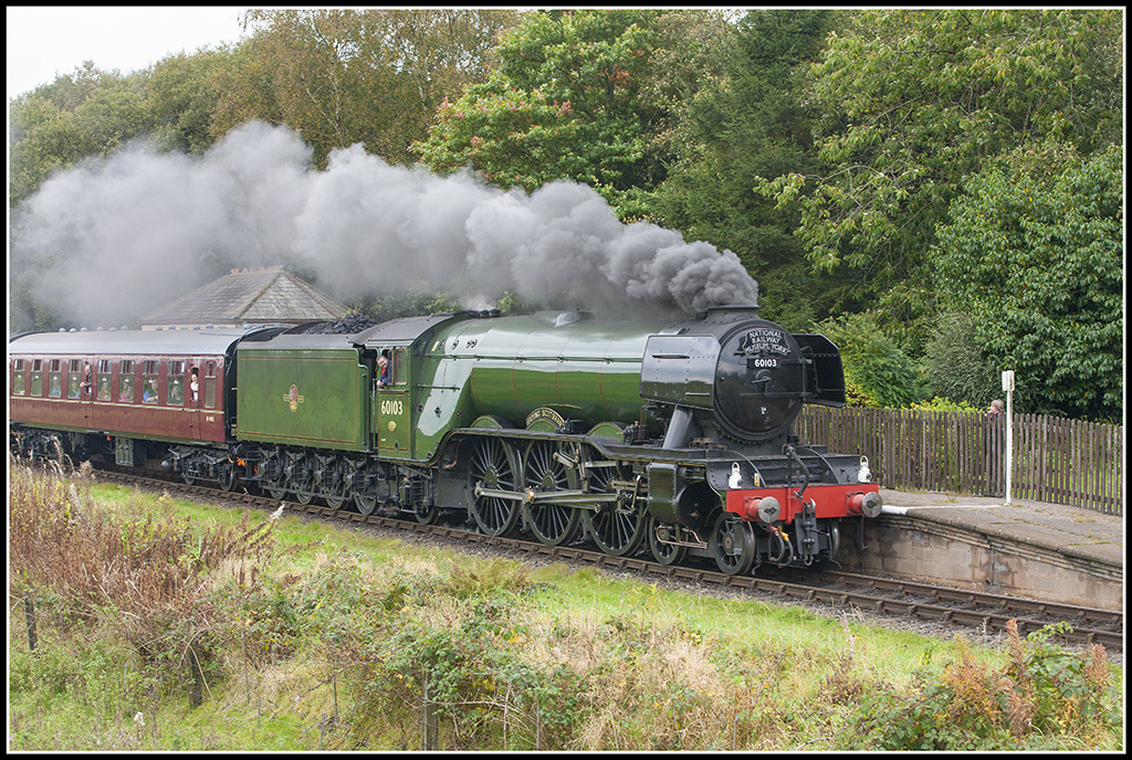 The Flying Scotsman (Recently on the East Lancs Railway) 30324536295_c6f37c318a_b