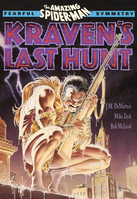 cover Spider-man Kraven's Last Hunt collection