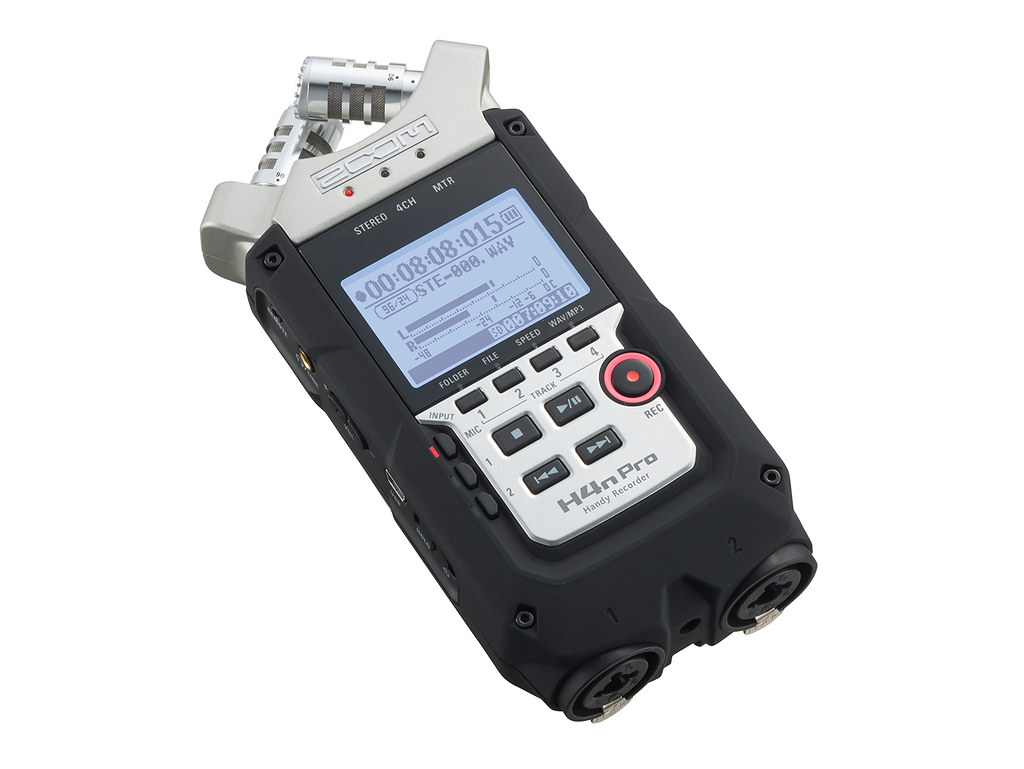 Photo of Zoom H4n Pro digital audio recorder