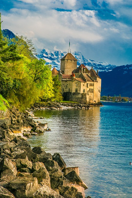 Things to do in Montreux, Switzerland, Europe, travel, vacation, Spring, Summer, Alps