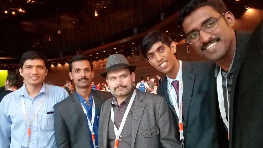 Team Autobots with Mr. Amit Kumar Pandey
