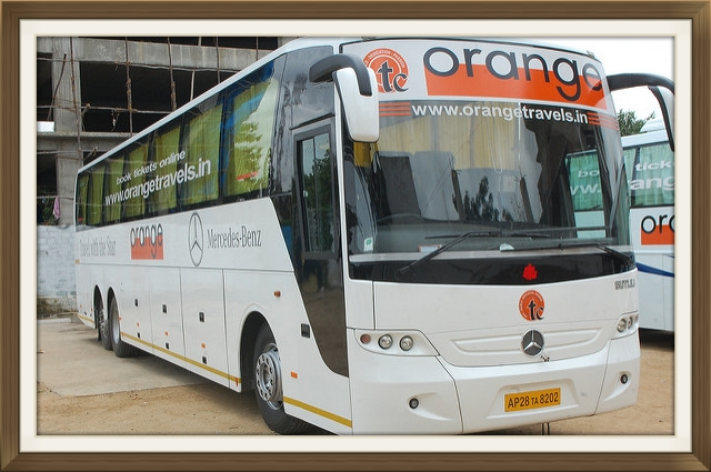 Orange Travels Bus Booking Buy Bus Ticket Online