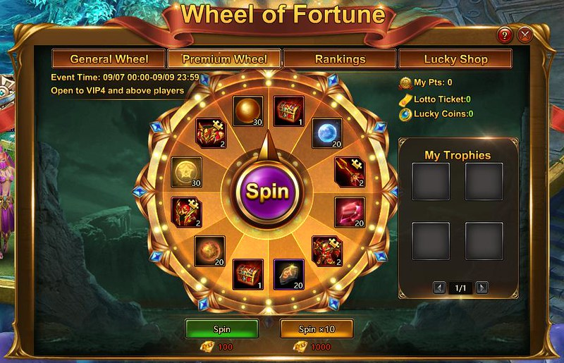 LOA2 Wheel of Fortune - Premium Wheel