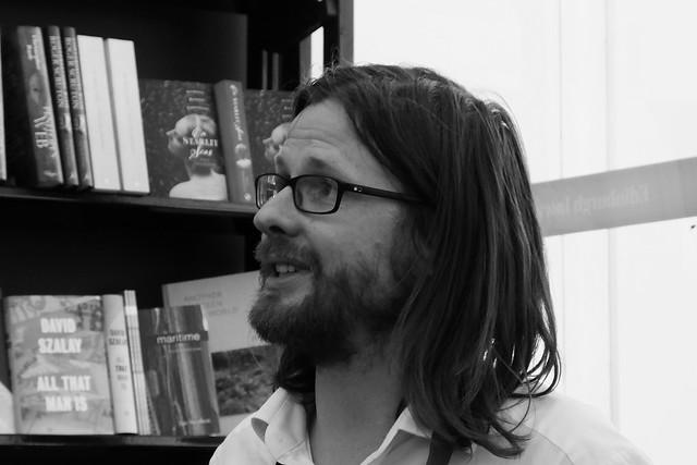 Edinburgh International Book Festival 2016 - Tom Gauld 03