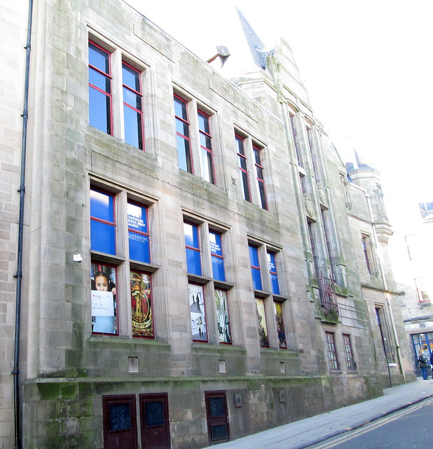 Dunfermline, Carnegie Library from South