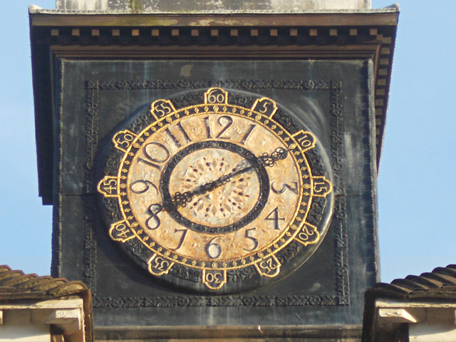 SUTTON, Surrey, Greater London - Thomas Wall Centre clock (2)