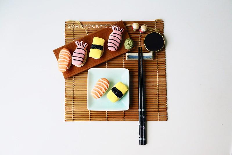 sushi macaron