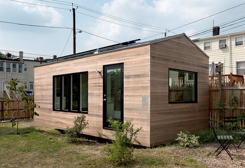 Компактный дом в США. Проект бюро Foundry Architects