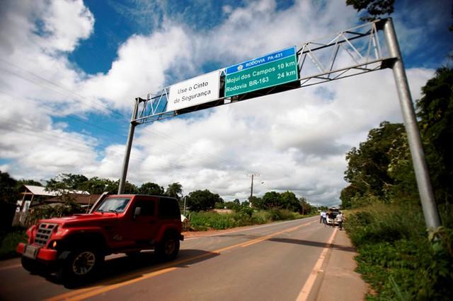 As 5 cidades do Pará que tem mais eleitores do que moradores, foto de Mojuí dso Campos. Foto - Thiago Araújo/APará